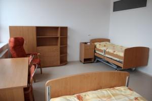 Trojposteľová izba pre klientov